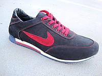Мужские кроссовки большие размеры замшевые Nike  46-49 р-р, фото 1