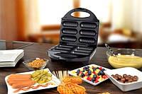 Прибор для приготовления Корн Догов Dong Can 6 сосисок, вафельница сосисочница