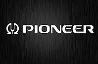 Виниловая наклейка  Pioneer 2 (от 2х15 см)