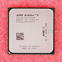 Процессор AMD sam3 ATHLON II 220 - 2 ЯДРА  ( 2 по 2.8 Ghz каждое ) am2+  am3 с ГАРАНТИЕЙ