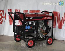 Дизельный генетатор Bulat BDG7000E (7 кВт, ел. стартер)