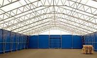 Строительство павильонов, комплексов, хранилищ в бескаркасных металлических системах