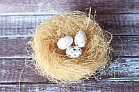 """Яйцо перепелиное маленькое"""" белого цвета, фото 1"""