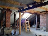 Реконструкция жилых зданий с устройством мансард и вентилируемых фасадов.