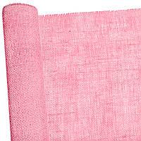 Мешковина светло- розовая 50см х 5 м