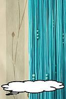 Кисея шторы нити Жемчужина