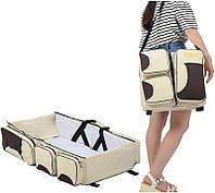 Органайзер сумка — детская кровать Ganen Baby Travel Bed and Bag ZW-009