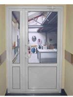Дверь металлопластиковая Brokelman 4-камерный 1640*2350 1-створчатая