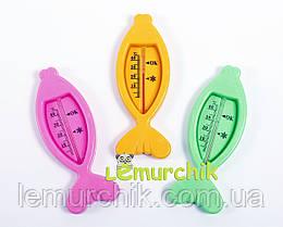"""Водяной термометр для ванны Lindo """"Рыбкa"""""""