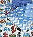Хлопковая ткань польская машинки разноцветными, фото 4