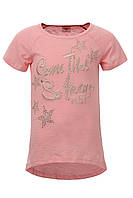 Легкая футболка Glo-story для девочек; 116, 122 размер