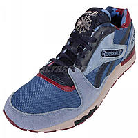 Мужские кроссовки Reebok GL 6000 Navy/Red (рибок) синие