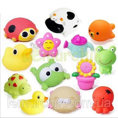Набор игрушек в ванночку 4 шт