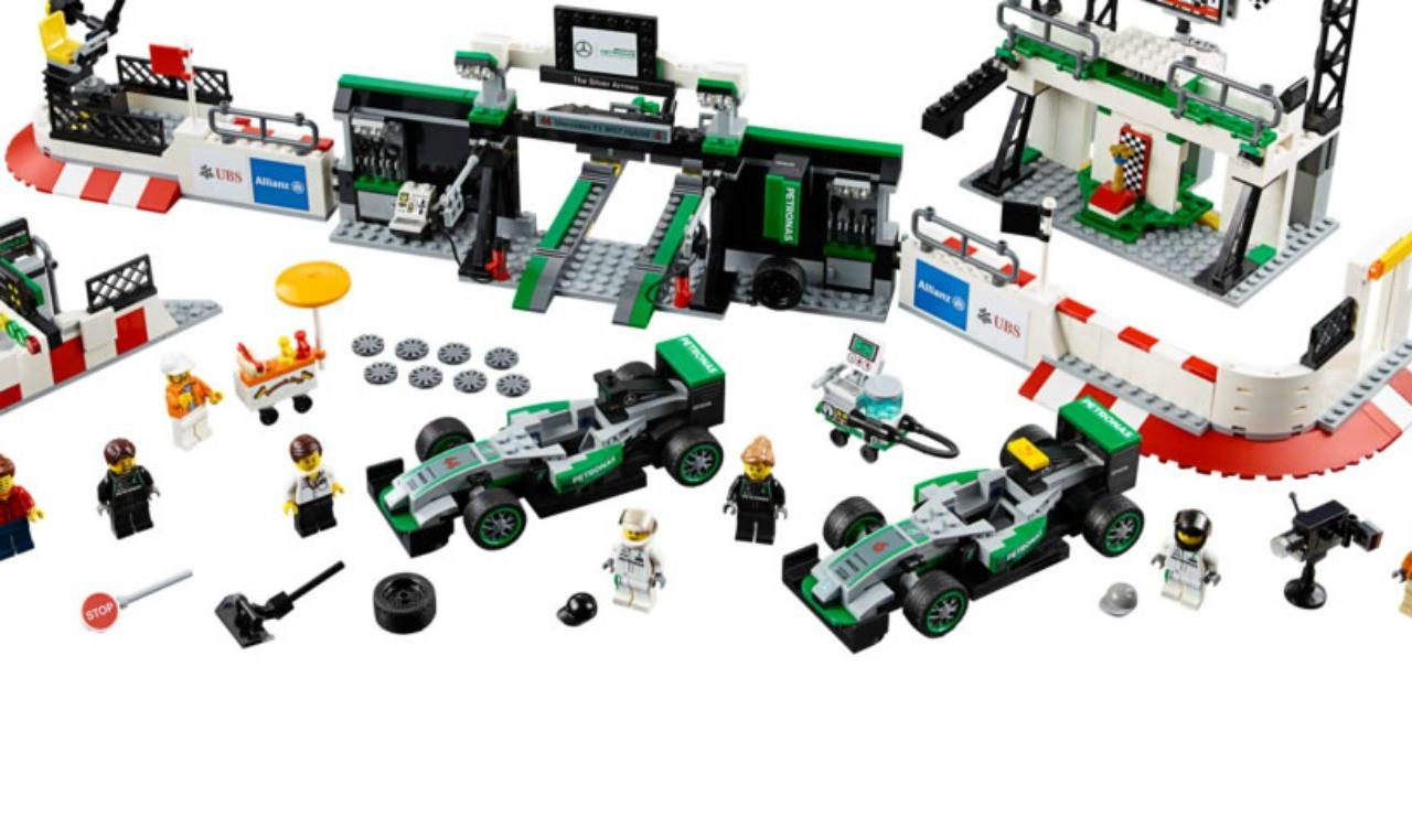 Konstruktor Lego Speed Champions Formula 1 Mercedes Amg Petronas