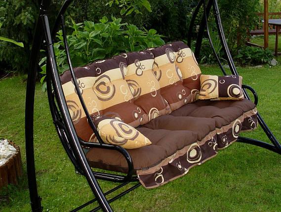 Подушки,матрасы для садовых качель 175 см., фото 2