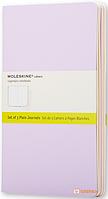 Блокнот Moleskine пастельный (средний, 3 шт.)