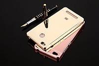 Металлический зеркальный чехол бампер для Xiaomi Redmi 3 Pro / Redmi 3S (4 цвета в наличии)