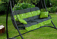 Подушки,матрасы для садовых качель Вст. Ромашка 175 см.