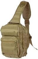 Рюкзак через плечо Assault MIL-TEC Coyote, 8л 14059105