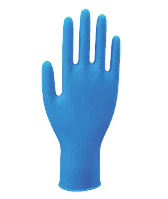 Перчатки медицинские нитриловые WRP Dermagrip® Nitrile, неопудренные