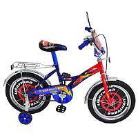 Велосипед двухколёсный Mustang 14 дюймов Тачки