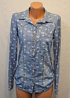 Джинсовая рубашка NR 2440