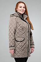 Женская демисезонная куртка Адена Nui Very бежевый