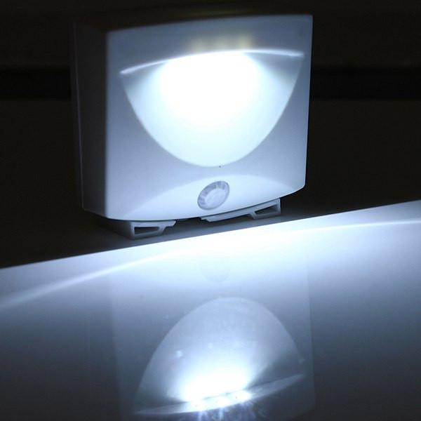 """Cветильник с датчиком движения Mighty Light, лампа с датчиком движения, лед лампа на батарейках, светильник с датчиком, сенсор движения, - Интернет магазин """"Электрошокер"""" в Киеве"""
