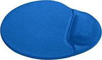 Коврик для компьютерной мыши Defender Easy Work синий, лайкра, 260х225х5 мм