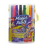 Дитячі чарівні різнокольорові фломастери Wham-O Magic Pens 20 pcs , фото 3