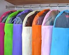 Чехлы для хранения и упаковки одежды флизелиновые