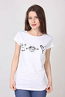 Стрейчевая футболка от производителя