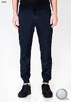 Мужские осенне-весенние брюки (карго) Forest - Сargo Navy 6Pockets Pants Art K0001-2 (тёмно-синий)