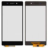 Сенсор (тачскрин) для Sony D6502 Xperia Z2, D6503 Xperia Z2 черный Оригинал