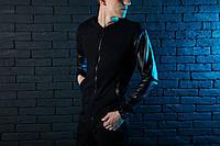 "Куртка кожаная мужская Pobedov Leather Jacket ""Blaze"" (Блейз - Черный) 🔥 Black"