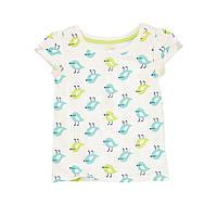 Детская летняя футболка для девочки  3,4,5 лет