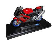 Мотоцикл Welly метал Aprilia RSV 1000 R, 1:18