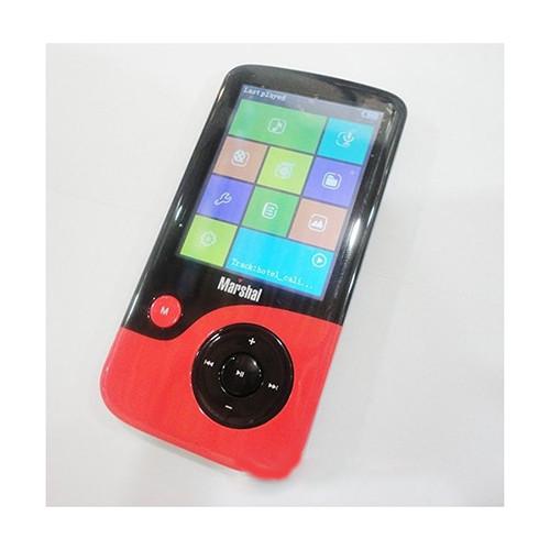 Marhal MP3\MP4 плеер + ФМ радио,диктофон (прорезиненный корпус)