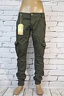 Мужские модные джинсы-карго Jenas Wear (Код 0802 )