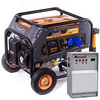 Бензиновый генератор Matari MP7900-ATS (5.5 кВт)