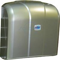 Диспенсер для листовых бумажных полотенец универсальный C V и Z укладка сатин (K.4-M)