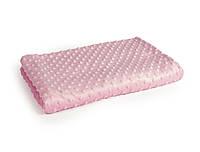 Плюш Minky розового цвета