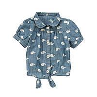Детская блуза для девочки  3 года, 5 лет