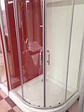 Душова кабіна Golston G-А3002, 900х900х1800 мм, скло прозоре, фото 4