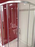 Душова кабіна Golston G-A3002, 1000х1000х1800 мм, скло прозоре, фото 3