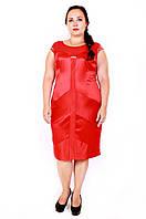 Коктейльное платье размер плюс Грация (48-54)