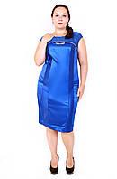 Коктейльное платье размер плюс Кокетка (48-54)