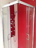 Квадратна душова кабіна Golston G-A3003, 800х800х1800 мм, скло прозоре, фото 2