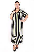 Красивое платье больших размеров Элиза (60-66)
