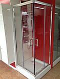Квадратна душова кабіна Golston G-A3003, 900х900х1800 мм, скло прозоре, фото 3